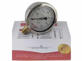 Certificação de manômetros