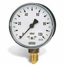 Manômetros de baixa pressão