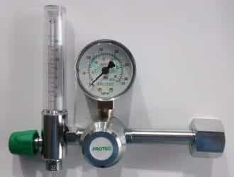 Manômetros de cilindro de oxigênio