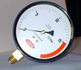 Manômetros para prensa hidráulica