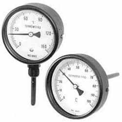 Termômetro analógico industrial