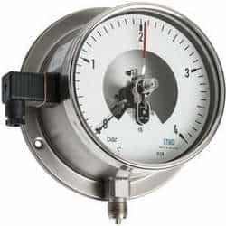 Comprar manômetro com contato elétrico