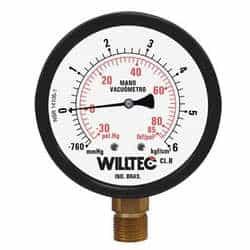 Comprar manômetros vácuo e pressão