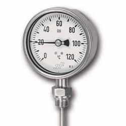 Termômetros bimetálico analógico