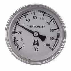 Termômetros bimetálico inox