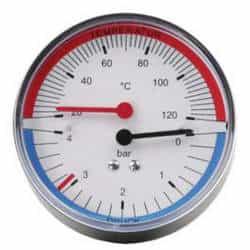 Termômetro manômetro